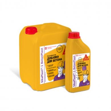 sikaplast®-1 betonplast добавки в бетон