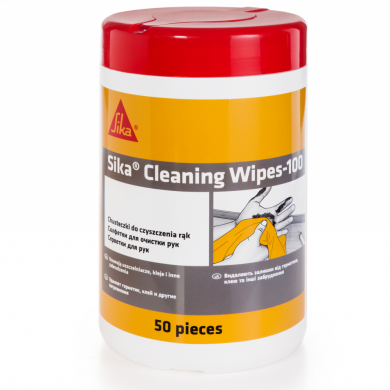 sika® cleaning wipes-100 укладка паркета