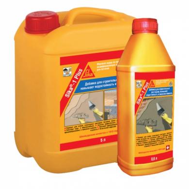 sika® 1 plus добавки в бетон