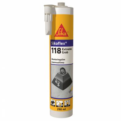 sikaflex®-118 extreme grab клеи и герметики