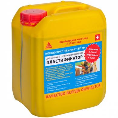 sikament® bv 3m добавки в бетон
