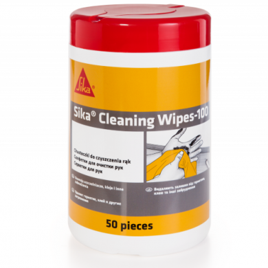 sika® cleaning wipes-100 клеи и герметики